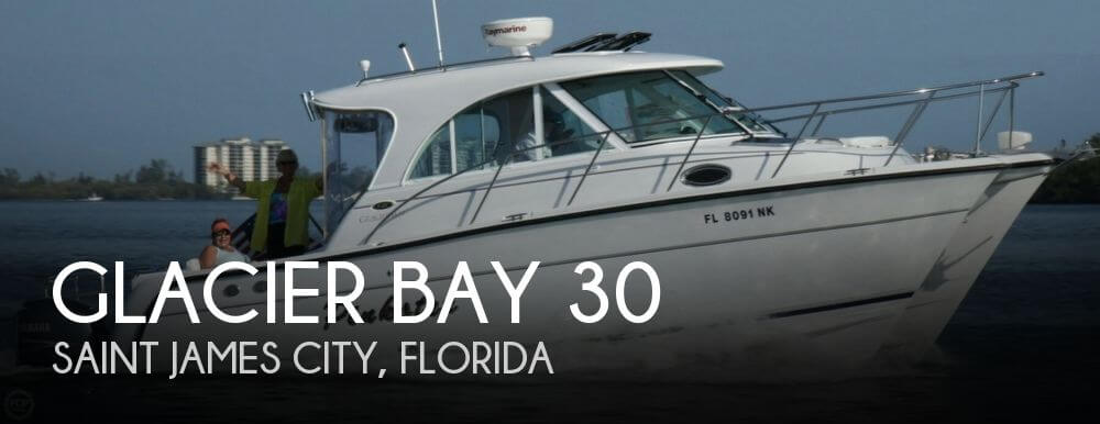 Used Boats For Sale in Naples, Florida by owner | 2008 Glacier Bay 30