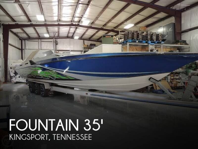 Used Boats For Sale in Kingsport, Tennessee by owner | 1999 Fountain 35
