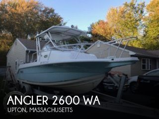Used Angler Boats For Sale by owner | 2007 Angler 2600 WA
