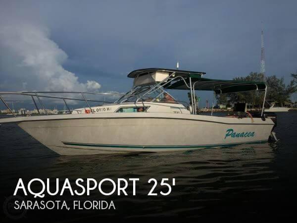 Used Aquasport Boats For Sale by owner   1994 Aquasport 25