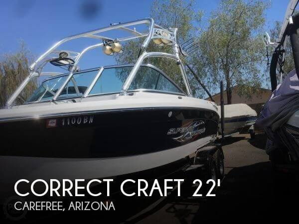 Used Correct craft Boats For Sale by owner   2007 Correct Craft 22