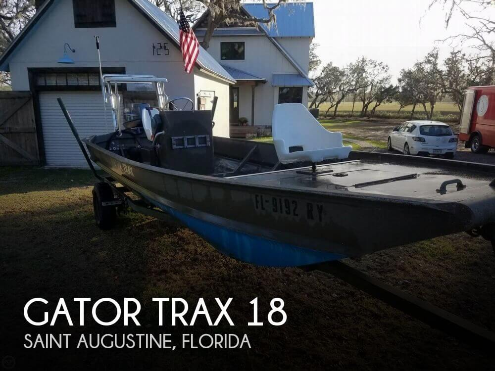 Used Gator Trax  Boats For Sale by owner | 2007 Gator Trax 18