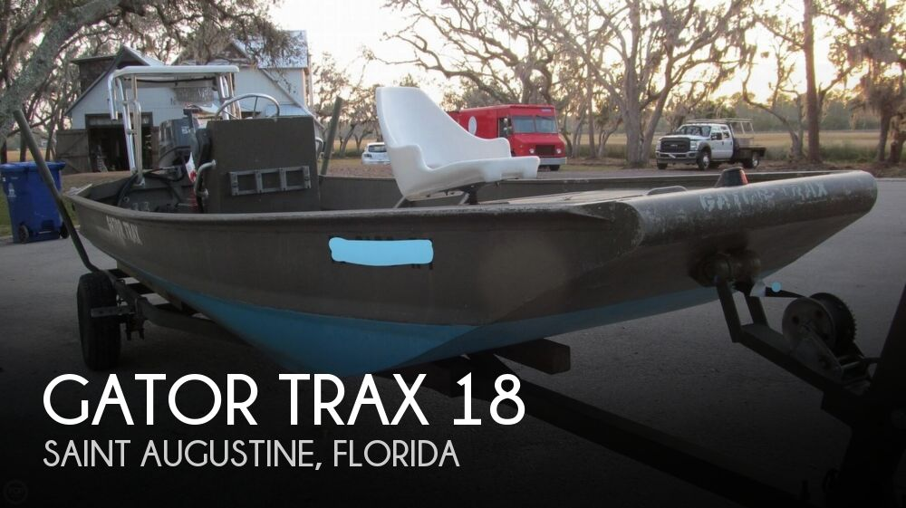 2007 Gator Trax boat for sale, model of the boat is 18 & Image # 1 of 26