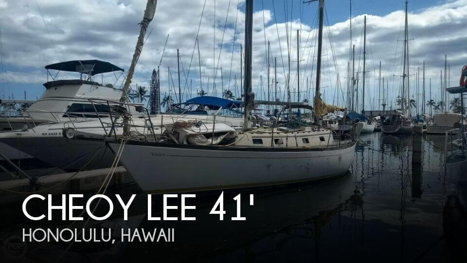 Used Cheoy Lee Boats For Sale by owner | 1978 Cheoy Lee 41