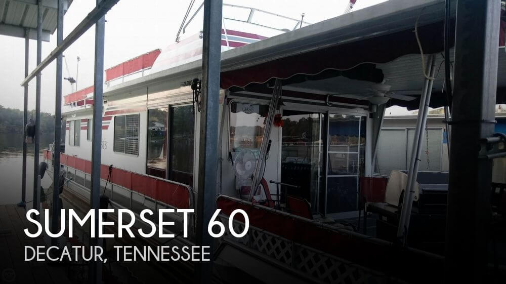 Used Houseboats For Sale in Tennessee by owner | 1986 Sumerset 60