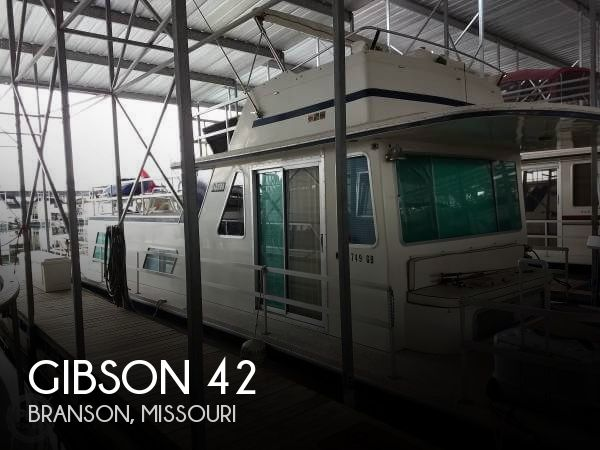 Used Houseboats For Sale in Missouri by owner | 1983 Gibson 42