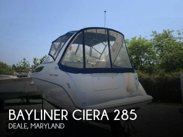 Used Bayliner Boats For Sale in Maryland by owner | 2003 Bayliner 28