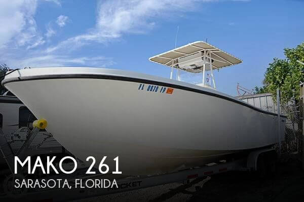 Used MAKO Boats For Sale in Florida by owner | 1987 Mako 261