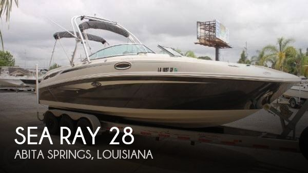 Used Deck Boats For Sale by owner | 2010 Sea Ray 28