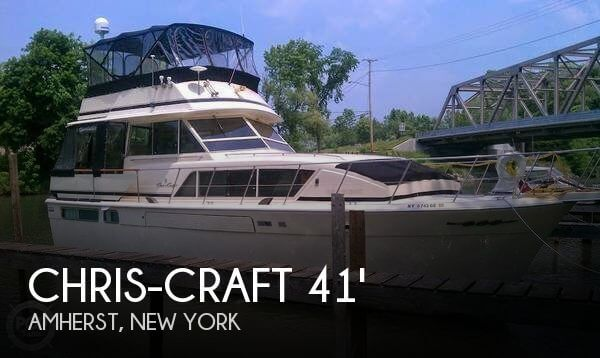 Used Boats For Sale in Buffalo, New York by owner | 1987 Chris-Craft 41