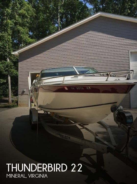 Used THUNDERBIRD  Boats For Sale by owner | 1988 Thunderbird 22