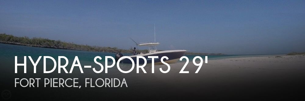 Used Boats For Sale in Palm Bay, Florida by owner | 2006 Hydra-Sports 29