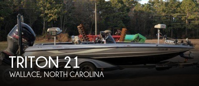 Used Ski Boats For Sale in North Carolina by owner | 2015 Triton 21