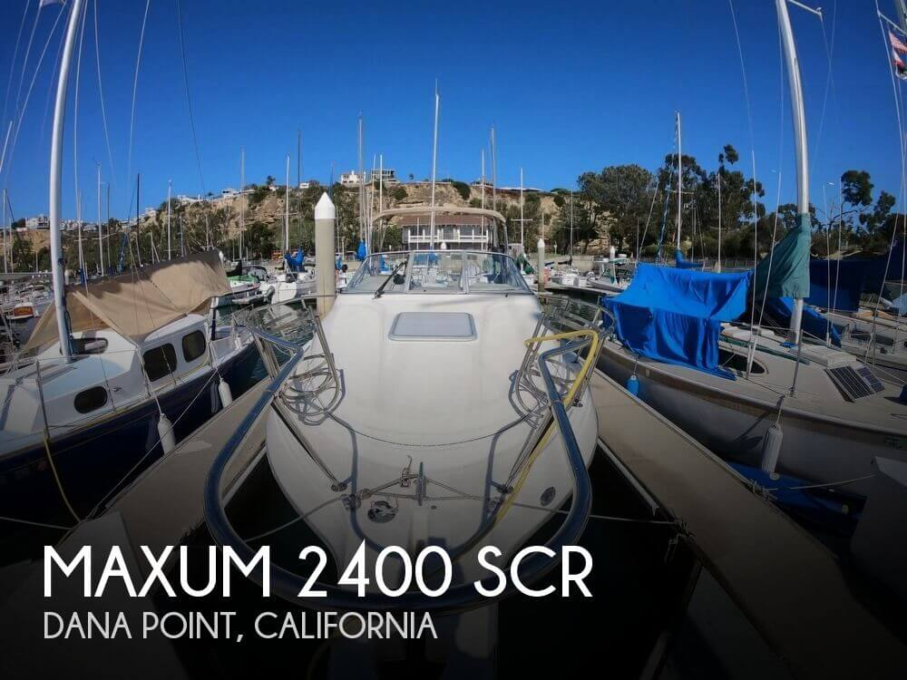 Used Maxum Boats For Sale in California by owner | 1998 Maxum 25