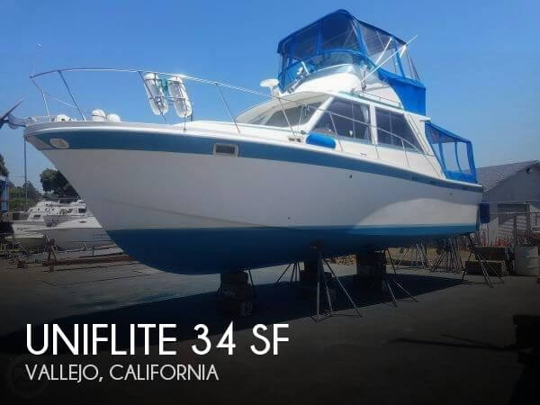 Used Fishing boats For Sale in Santa Rosa, California by owner | 1973 Uniflite 34