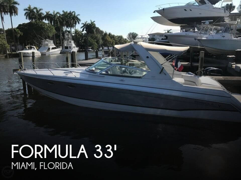 Used Formula Boats For Sale in Florida by owner | 2007 Formula 34