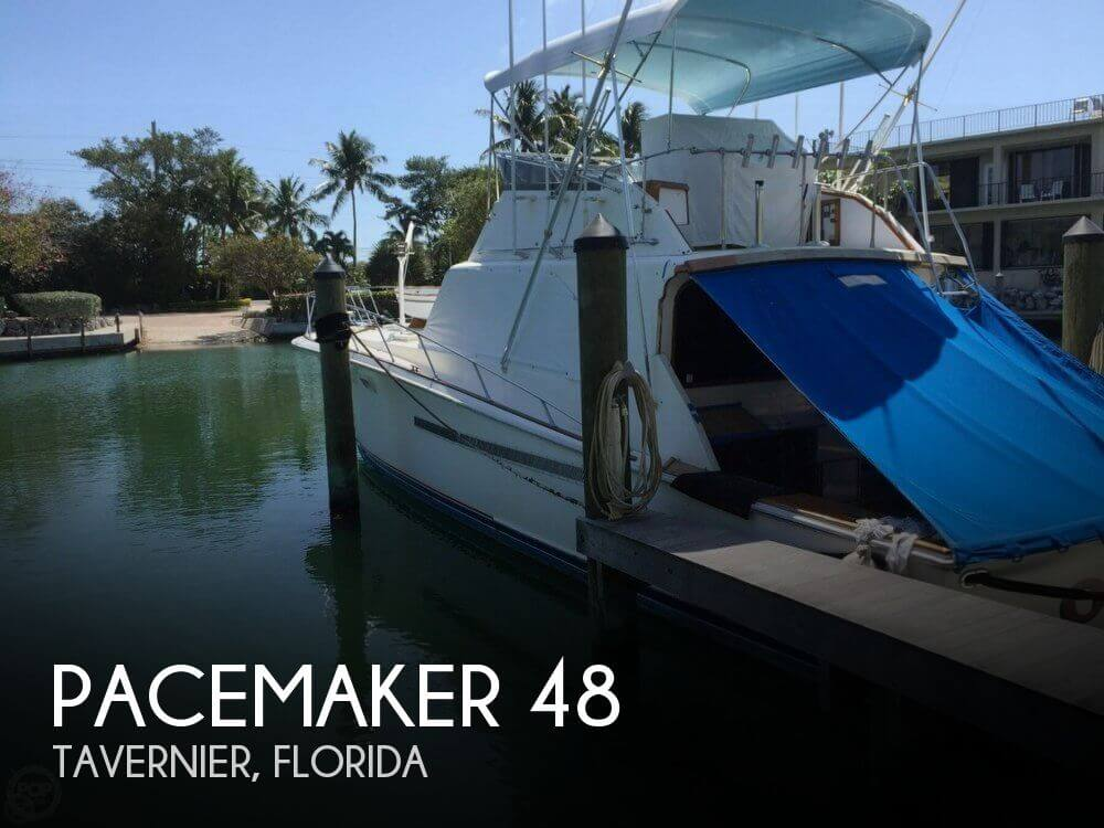 Used Fishing boats For Sale in Miami, Florida by owner | 1975 Pacemaker 48