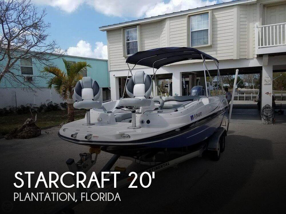 Used Starcraft Deck Boats For Sale by owner | 2016 Starcraft 20