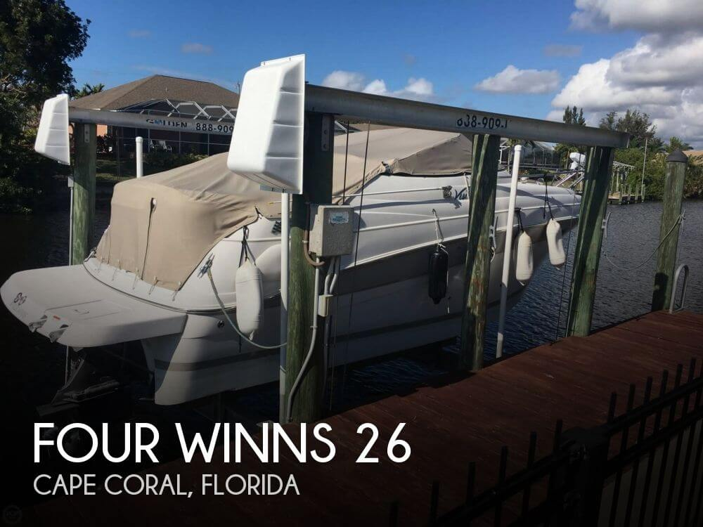 Used Four Winns Boats For Sale in Florida by owner | 2005 Four Winns 26