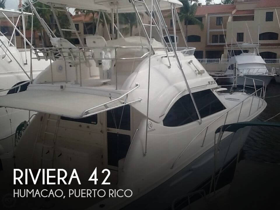 2005 Riviera boat for sale, model of the boat is 42 & Image # 1 of 40
