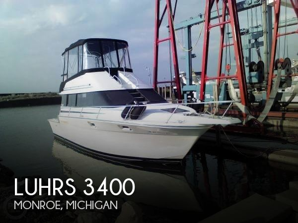 Used Luhrs Boats For Sale in Michigan by owner | 1990 Luhrs 34