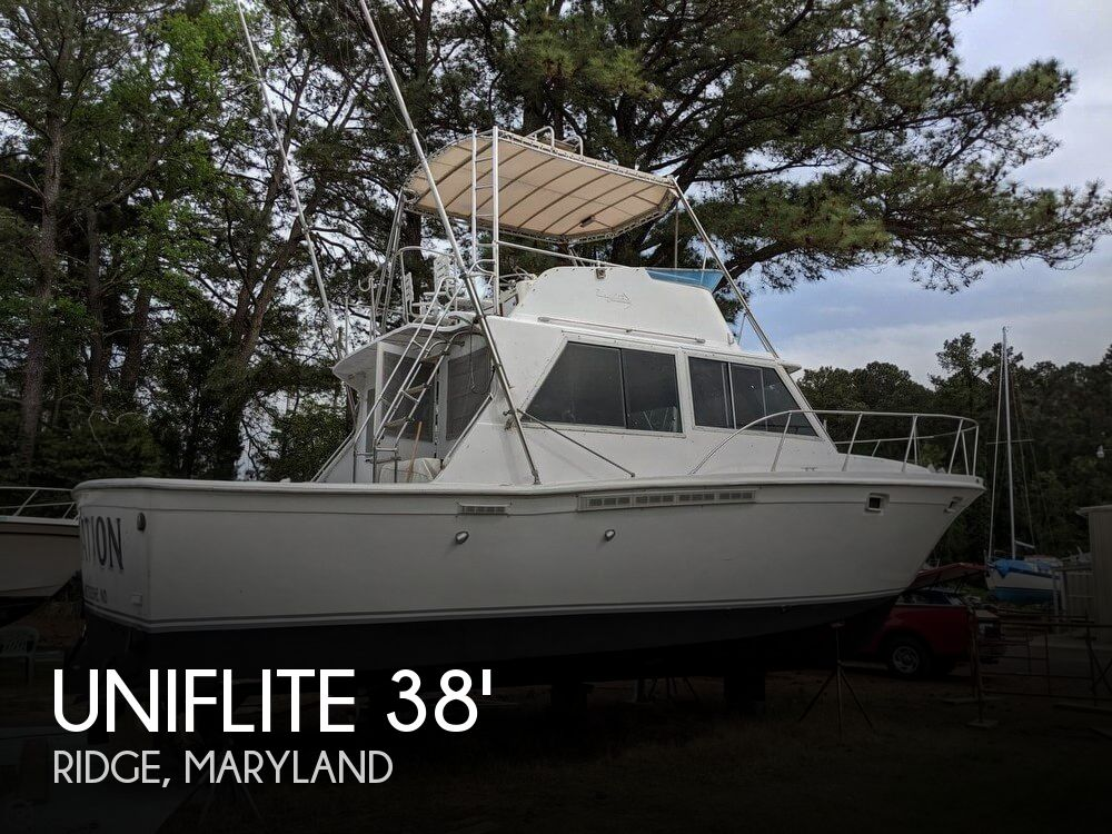 Used Fishing boats For Sale in Maryland by owner | 1979 Uniflite 38