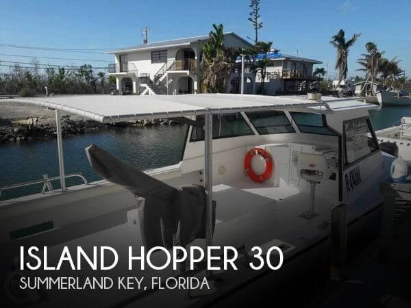 Used Island Hopper Boats For Sale by owner | 1986 Island Hopper 30