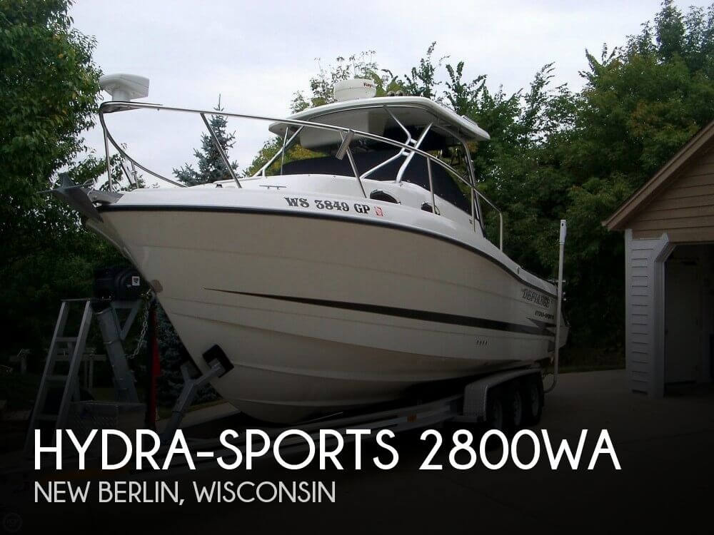Used Hydra-Sports Boats For Sale by owner | 2004 Hydra-Sports 28