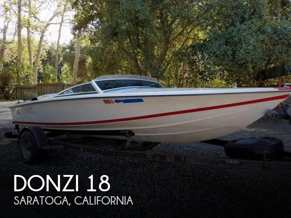 Used Boats For Sale in California by owner | 1991 Donzi 18