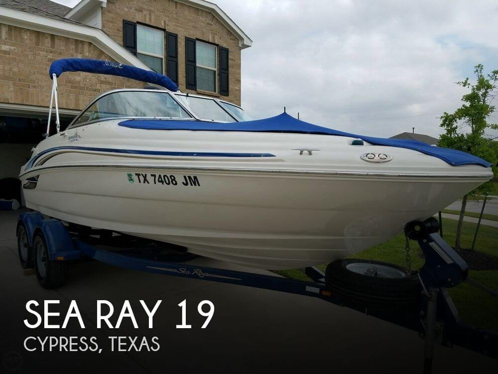 Used Deck Boats For Sale by owner | 2001 Sea Ray 19