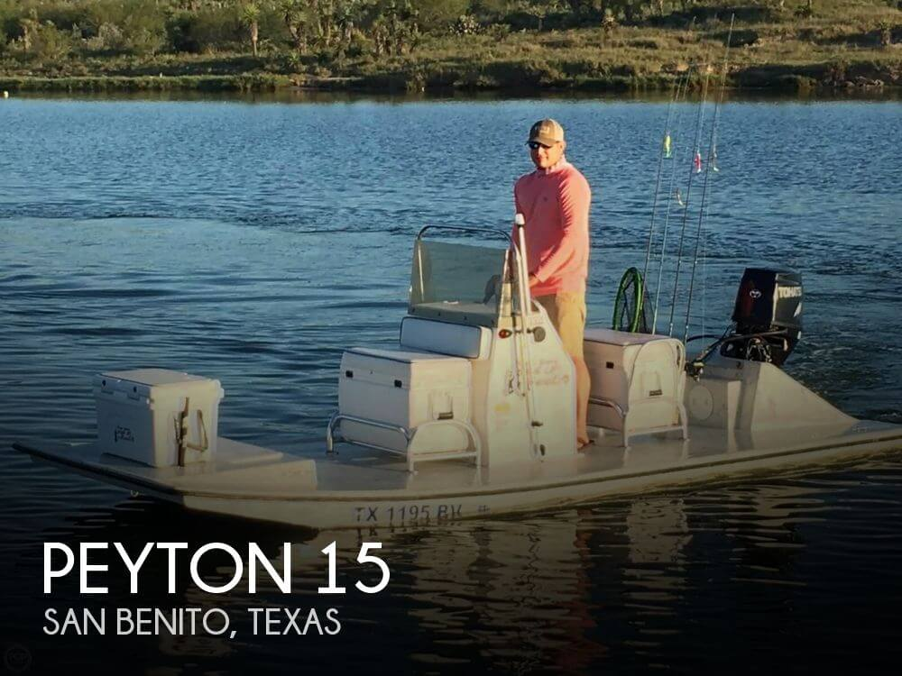 Used Boats For Sale in McAllen, Texas by owner | 2013 Peyton 15