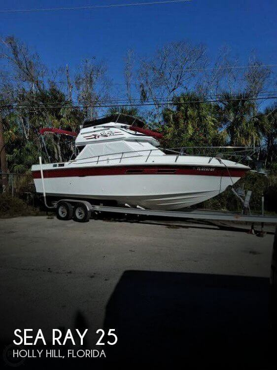 Used Fishing boats For Sale in Deltona, Florida by owner | 1980 Sea Ray 25