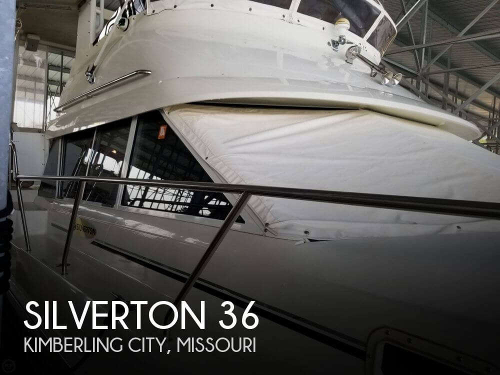 Used Boats For Sale in Springfield, Missouri by owner | 1994 Silverton 36