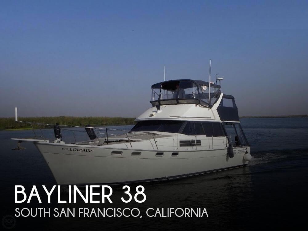 Used Bayliner Boats For Sale in California by owner | 1986 Bayliner 38