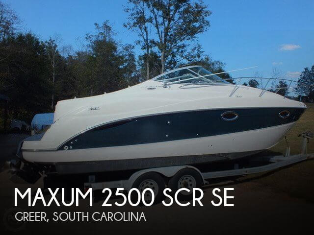 canceled maxum 2500 scr se boat in greer sc 144013 rh popyachts com Boat Ignition Switch Wiring Diagram Simple Boat Wiring Diagram