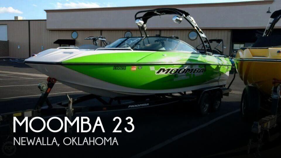 Used Boats For Sale in Oklahoma City, Oklahoma by owner | 2013 Moomba 23