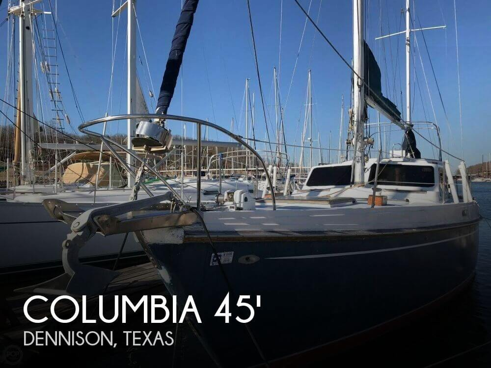 Used Columbia Boats For Sale by owner | 1973 Columbia 45