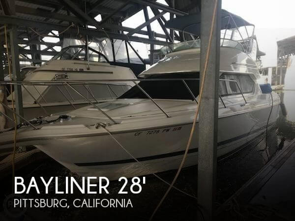Used Motoryachts For Sale in California by owner | 2001 Bayliner 28