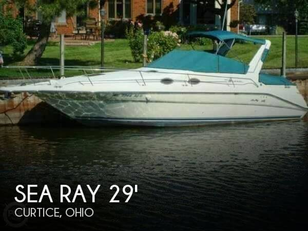 Used Sea Ray Boats For Sale in Ohio by owner | 1996 Sea Ray 29