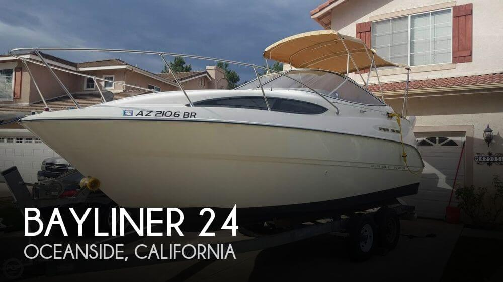 Used Bayliner Boats For Sale in California by owner | 2002 Bayliner 2455 Cierra