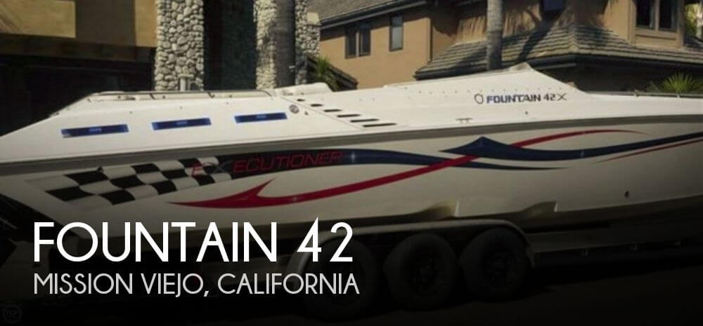 Used Fountain Boats For Sale by owner   2004 Fountain 42