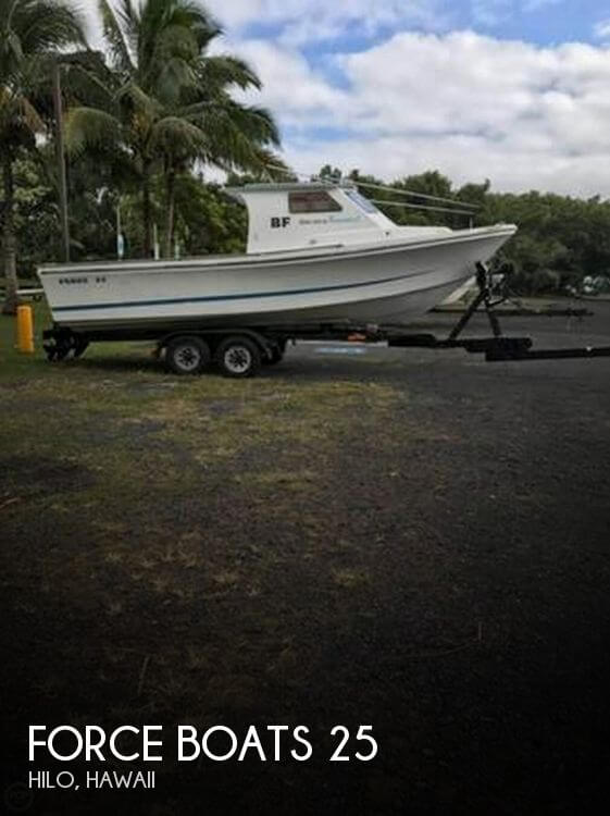 Used Boats For Sale in Hawaii by owner | 2008 Force Boats 25