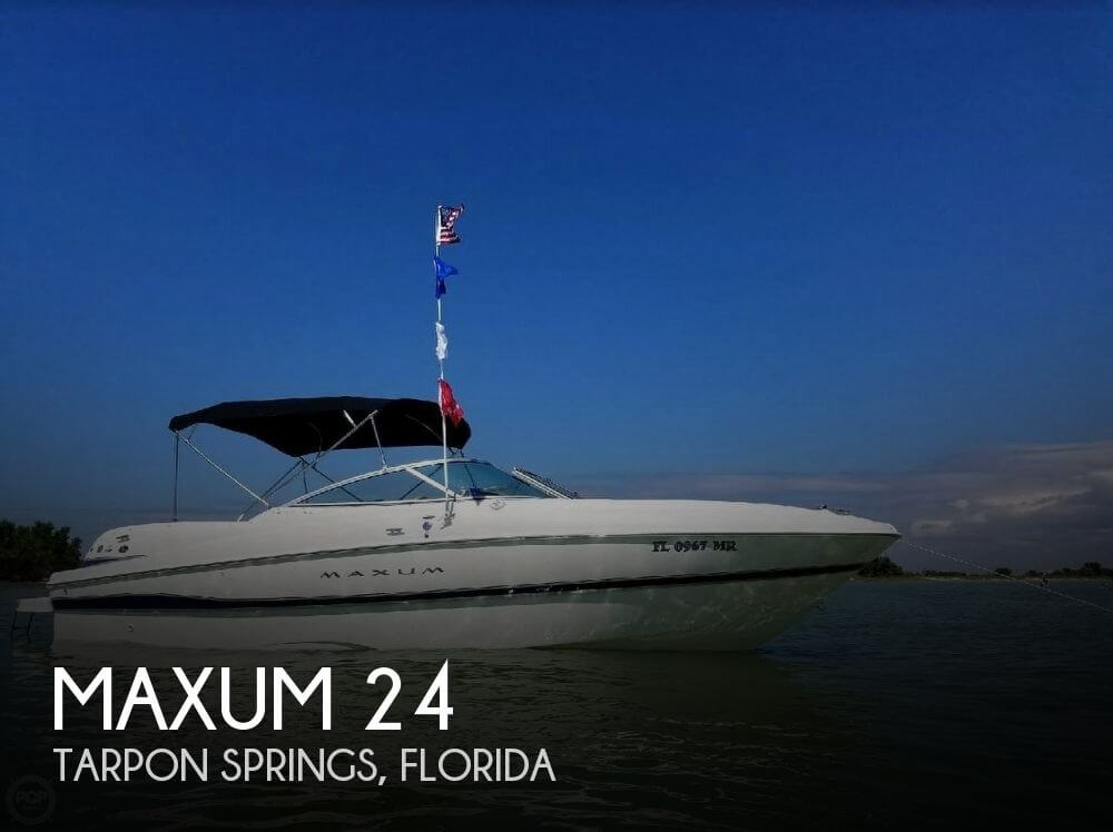 Used Deck Boats For Sale by owner | 2004 Maxum 24