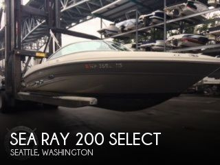 Used Sea Ray Boats For Sale in Washington by owner | 2005 Sea Ray 21