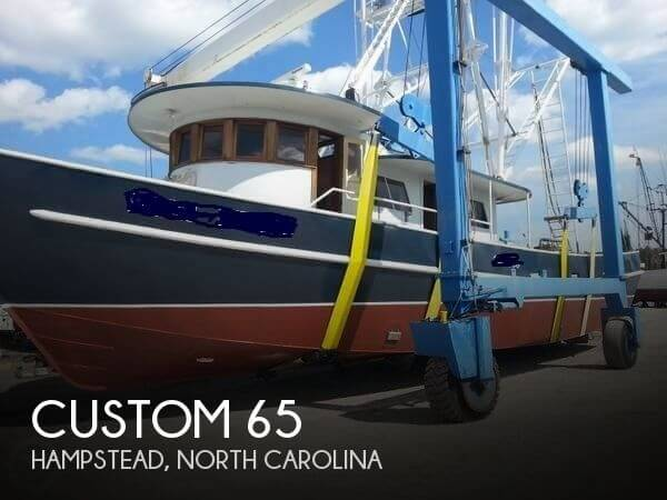 Used Boats For Sale in North Carolina by owner | 1982 Custom 65