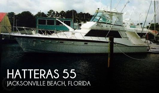 Used Fishing boats For Sale in Florida by owner | 1983 Hatteras 55