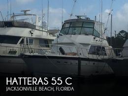 1983 Hatteras 55 C