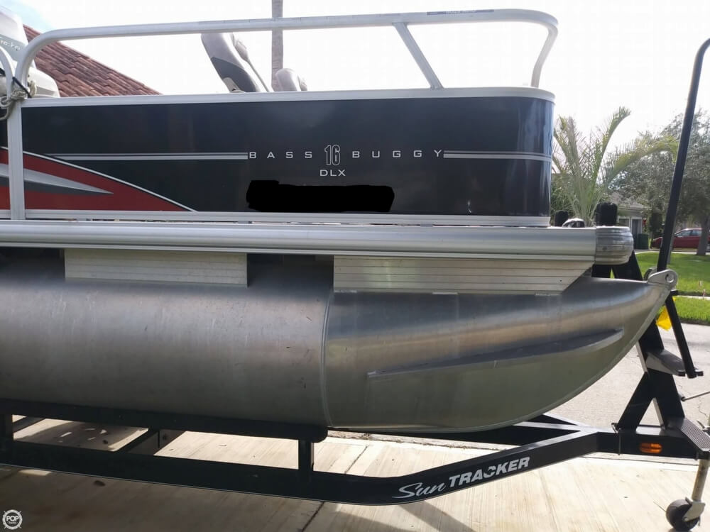 2014 Sun Tracker boat for sale, model of the boat is Bass Buggy 16 DLX & Image # 15 of 40