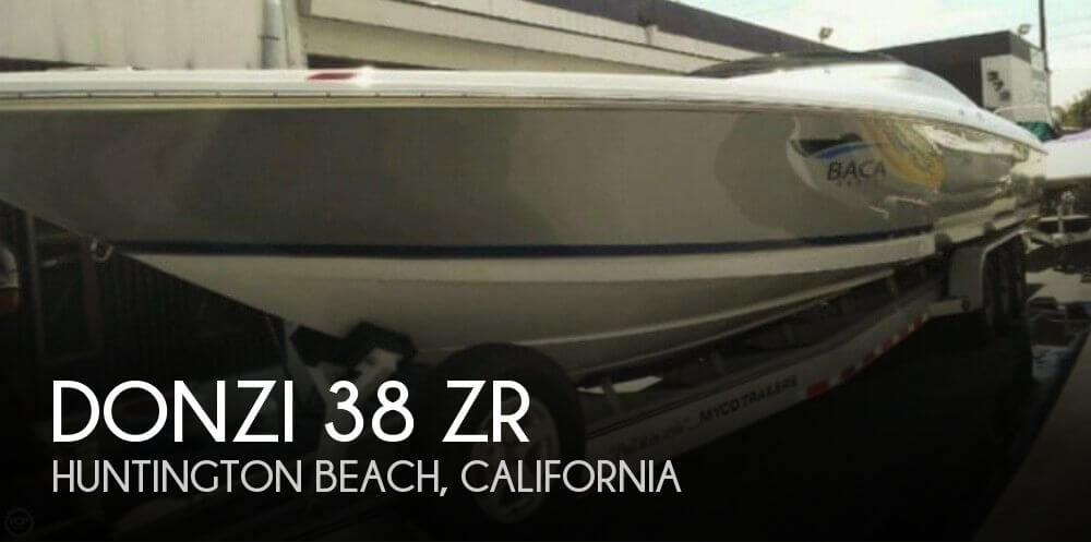 Used DONZI Boats For Sale by owner | 2007 Donzi 38