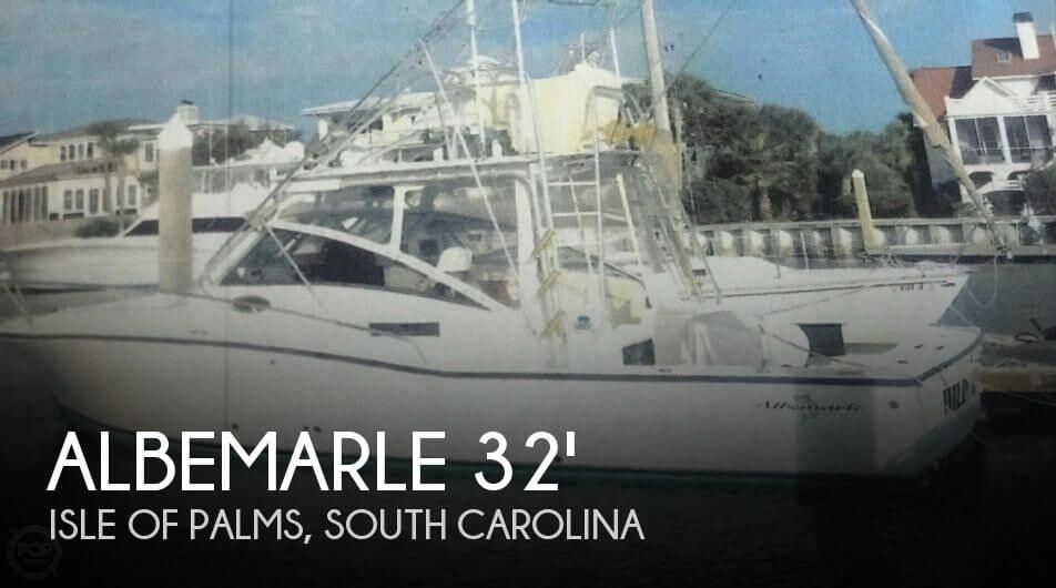 Used Boats For Sale in Charleston, South Carolina by owner | 1998 Albemarle 32